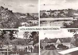 Volkssolbad Bad Kösen , DDR , Ansichtskarte, ungel. - Schwerin, Deutschland - Volkssolbad Bad Kösen , DDR , Ansichtskarte, ungel. - Schwerin, Deutschland