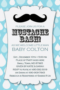 Little Man Mustache Bash Printable 1st