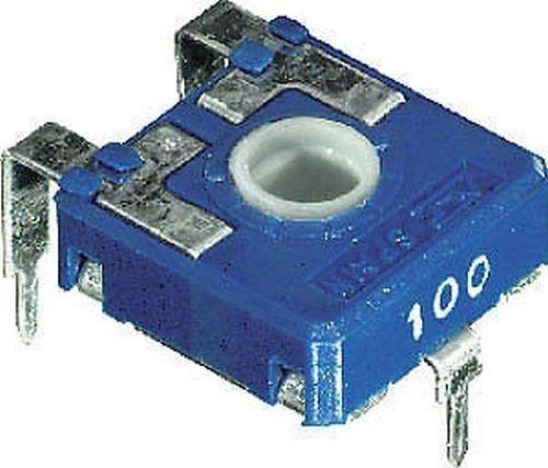3pz TRIMMER ORIZZONTALE 220Kohm 14x14 PASSO 10mm 2//262