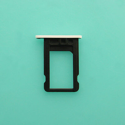 New Nano SIM Card Tray Slot Holder Repair Part For Apple iPhone 5C 5 C White