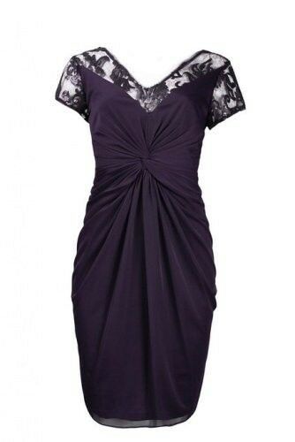 Adrianna Papell Women's Lace Front Twisted Mesh Dress, SALE from  160 to  49