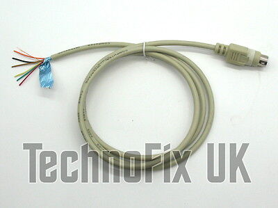Audio breakout cable, 6 pin mini DIN for APRS datamodes EchoLink SSTV PSK31 etc.