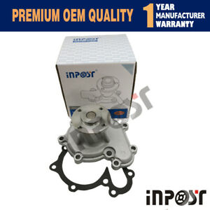 NEW WATER PUMP FITS HYSTER FORKLIFT S40-60XL MAZDA 4CYL ENGINE 3002535 220070181