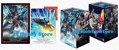 Cardfight! Vanguard PROMO Card Deck Box Sleeves SET Vollmond Blaukluger