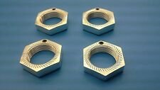 Genuine Lauterbacher wheelnut SW 24 with locking-screw for HPI Baja SS