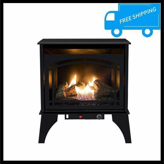 Vanguard Sdvbpa 7402482 Freestanding Fireplace System Lp Gas 18603 For Sale Online Ebay