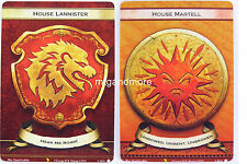 A Game of Thrones 2.0 LCG - 1x S200/201 House Lannister/Martell - Valyrian Draft