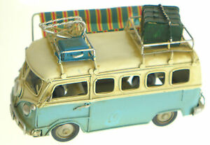 Retro-Style-Kombi-Metal-Plate-VW-Style-Decorative-Cars-Style-amp-Colour-Choice