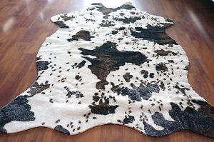 Cow Zebra Leopard Print Faux Cowhide Living Bedroom Non