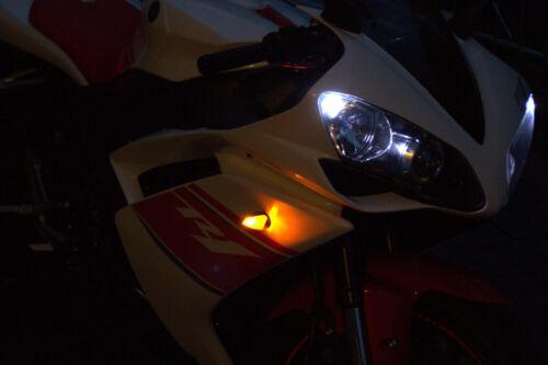 Prüfzeichen LED Blinker Universal für Motorrad Quad Roller ATV Mini Blinker E