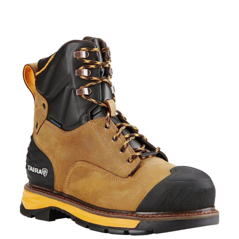 Ariat® Catalyst VX 8 Inch Waterproof Composite Toe Work Boots 10018534