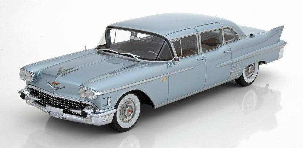 BOS 1958 ILLAC FLEETWOOD 75 berline bleu clair métallisé 1 18NEW Vente rapide