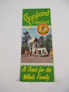 Vintage-Storyland-Children-039-s-Park-Cape-Cod-Massachusetts-Brochure-Pamplet-Box-P5