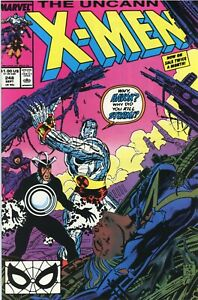 UNCANNY X-MEN #248 JIM LEE 1st Artwork On Title MARVEL COMICS 1989 - High Grade