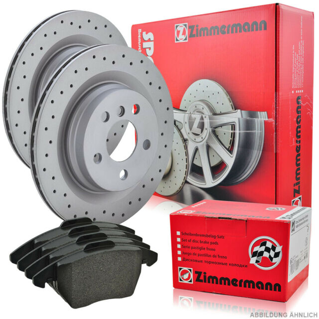 ZIMMERMANN SPORT Bremsscheiben Beläge 5 E39 530d 142kw 530-540i 324mm Vo.