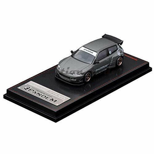 Venta al por mayor barato y de alta calidad. Ignición Modelo 1 64 pandem Civic (EG6) IG1742 gris titanio titanio titanio con seguimiento Nuevo  sorteos de estadio