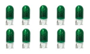 10x-194-Green-T10-Wedge-Car-Mini-Bright-Light-bulb-W5W-5050-2825-158-192-168-LOT