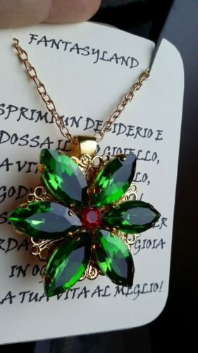 ciondolo ANASTASIA collana together in paris swarowski cristalli cartone regalo