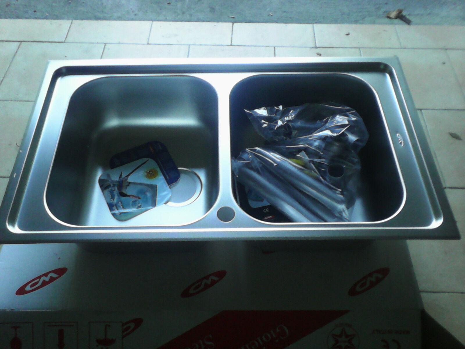 Lavello ZENITH PLUS 011264  2 vasche
