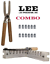 Lee COMBO 6-Cavity Mold Handles 9mm Luger 38 Super 380 ACP 90457+90005