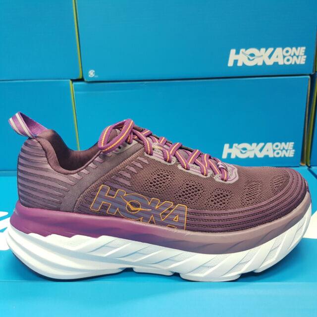 Womens Bondi 6 Purple Running Shoes