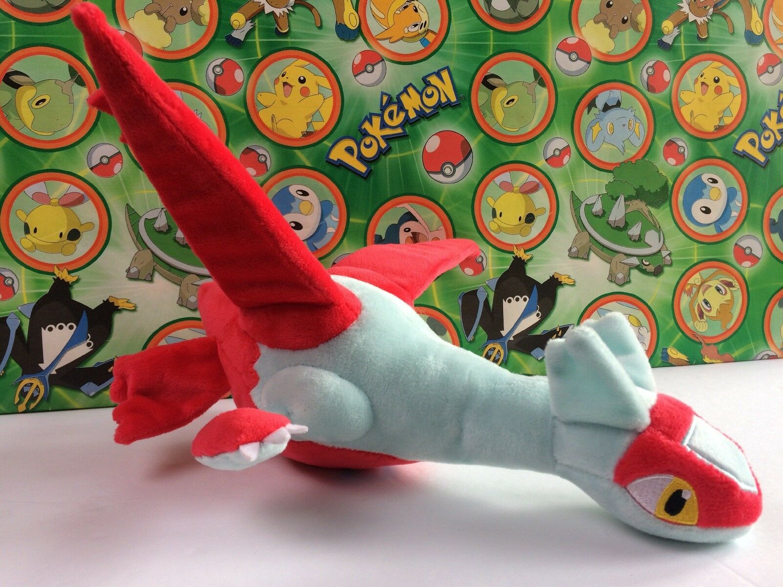 Pokemon Center Japón Latias 10  Pokedoll 2014 Peluche Peluche Figura vendedor EE. UU.