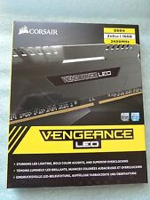 CORSAIR Vengeance LED 16GB (2 x 8GB) 288-Pin DDR4 SDRAM DDR4 2400Mhz NEW