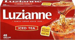 Image Is Loading Luzianne Specially Blended For Iced Tea Family Size