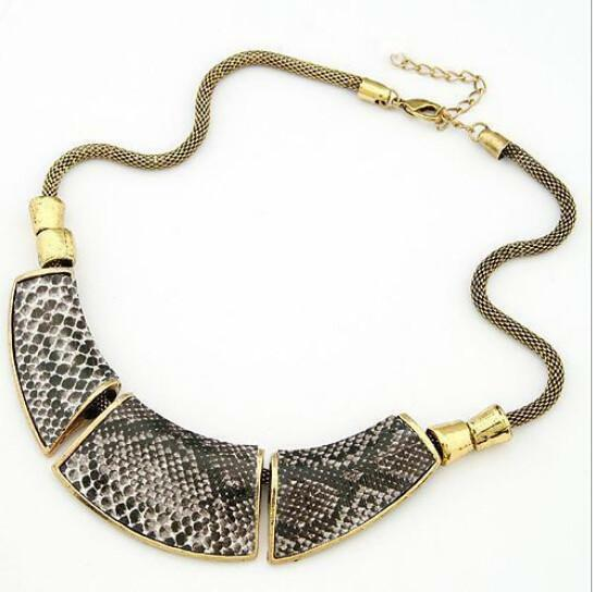 DICA NEW Charm Jewelry Pendant Chain Choker Chunky Statement Bib Collar Necklace