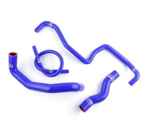 Silicone Radiator Hose For Nissan 350z Fairlady Z33 Vq35de Vq35hr 03-07 Blue