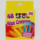 ArtBox 48 Wax Crayons With Inbuilt Sharpener