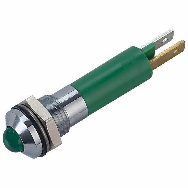 LED INDICATOR GREEN 12V CML INNOVATIVE TECHNOLOGIES 19040251