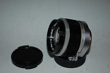 Canon 1.8/50 mm Rangefinder Lens. 39mm Screw Mount (LTM) & Caps. 335421. UK Sale