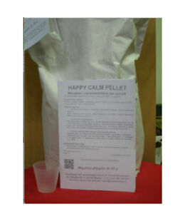 HAPPY CALM PELLET mangime complementare per cavalli agitati gusto mela 1 kg Happ