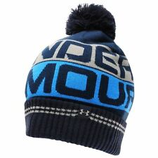 cf9798b897a item 5 UNDER ARMOUR RETRO POM POM 2.0 THERMAL MENS GOLF BOBBLE HAT  Pompom  Navy -UNDER ARMOUR RETRO POM POM 2.0 THERMAL MENS GOLF BOBBLE HAT  Pompom  Navy
