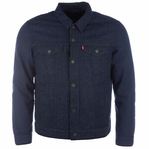 Levi-039-s-Trucker-Jacket-With-Thermamore-for-Levis-Quilted-Thermal-Insulation-Levi