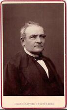 Geruzet CDV photo Herrenportrait - Brüssel um 1880