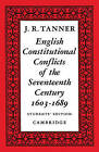 English Constitutional Conflicts of the Seventeenth Century: 1603-1689 by J. R. Tanner (Paperback, 1924)