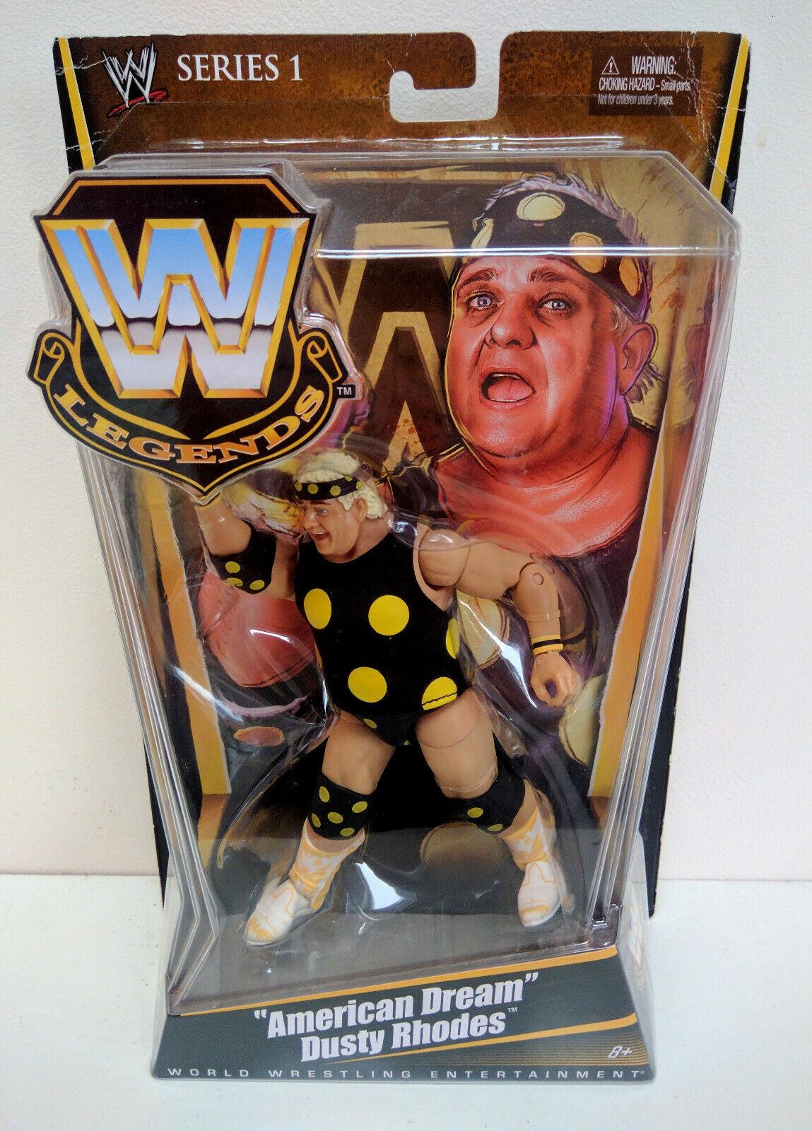 WWE Mattel Elite Legends Series 1 American Dream Dusty Rhodes Flashback MOC