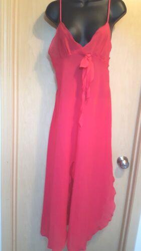 Georgette Trabolsi S Sexy Pink Ruffle Gown Robe Ne