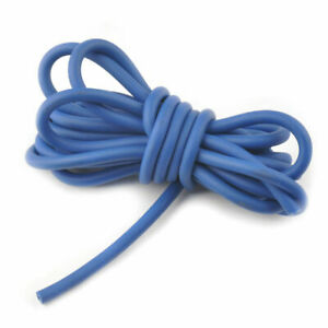 Blue-Outdoor-Hunting-Sling-Shot-Slings-Rubber-Tube-5mm-2-5m-Replacement-Band