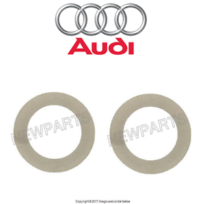 For Audi A6 Quattro Allroad Quattro Set of 2 Camshaft Shim Washer OES 079105193