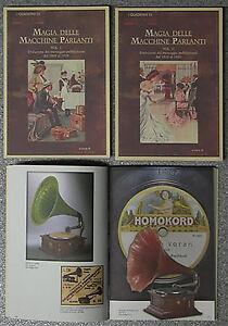 2-volumi-Quaderni-di-Antique-Radio-MAGIA-MACCHINE-PARLANTI-Fonografi-Grammofoni