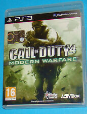 Call of Duty 4 - Modern Warfare - Sony Playstation 3 PS3 - PAL