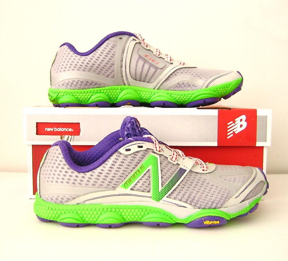 NWB Women's New Balance W1010 Running Shoe Size 8.5 (US) Silver/Purple