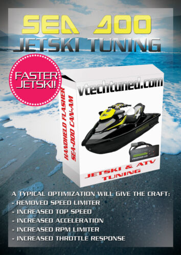 SEADOO VTECH ECU TUNE - For performance efficiency - Professional Service