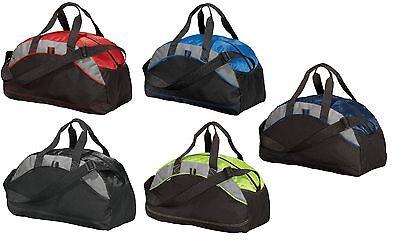 Port & Company - Improved MEDIUM Duffel Bag, Gym Duffle, Travel Carry On, BG1070