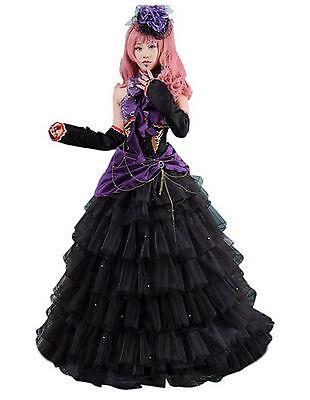 Vocaloid Hatsune Miku Megurine Luka Cosplay costume Dress S-XL Customized Size