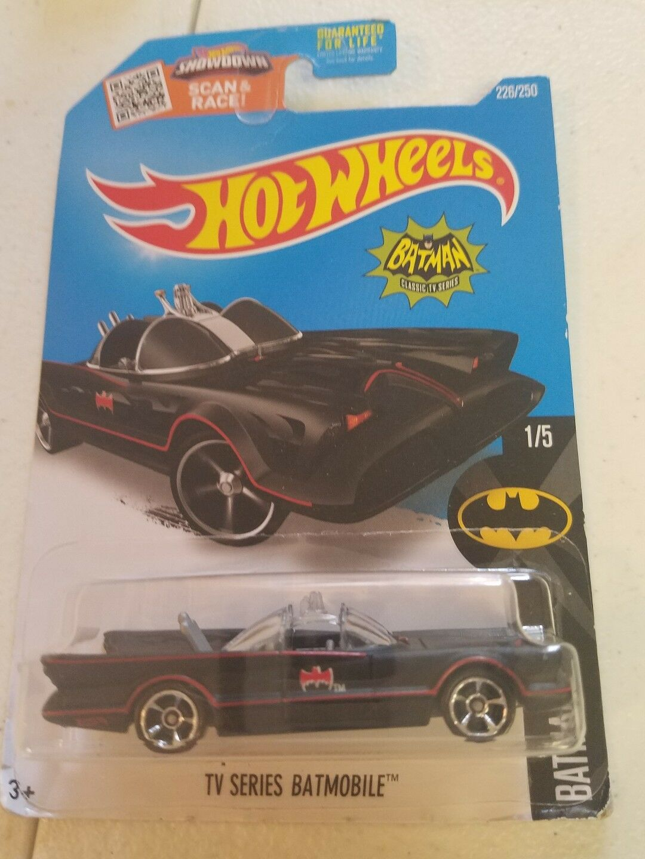 HOT WHEELS 1 64 Showdown Scan Race TV SERIES BATMOBILE 1 5 BATMAN NEW