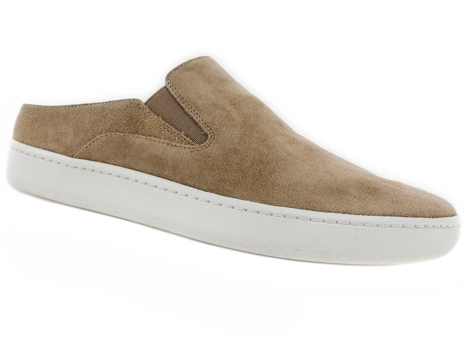 Vince Women's Verrell-2 Backless Comfort Sneakers Woodsmoke Suede Size 6 M